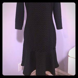 Ivanka Trump wool dress, ultra flattering